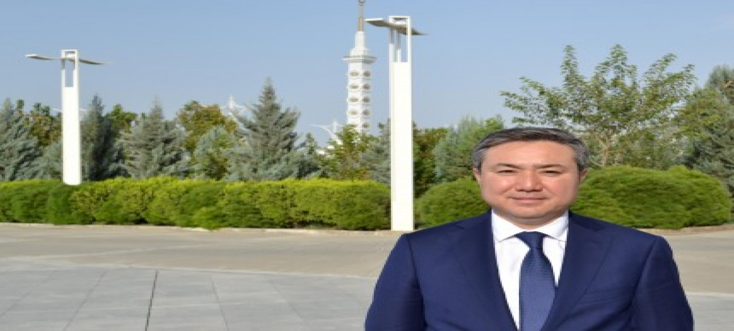 MEETING WITH THE NEWLY APPOINTED AMBASSADOR OF THE REPUBLIC OF KAZAKHSTAN TO TURKMENISTAN