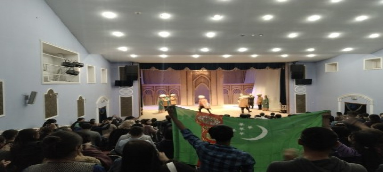 TURKMEN THEATER TOOK PART IN INTERNATIONAL THEATER FESTIVAL