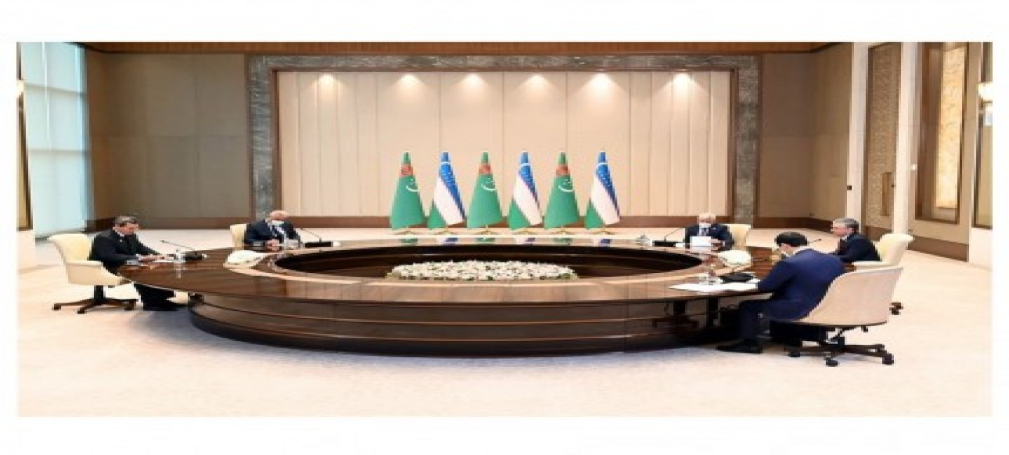 ISSUES OF BILATERAL INTERGOVERNMENTAL DIALOGUE BETWEEN TURKMENISTAN AND UZBEKISTAN WERE DISCUSSED