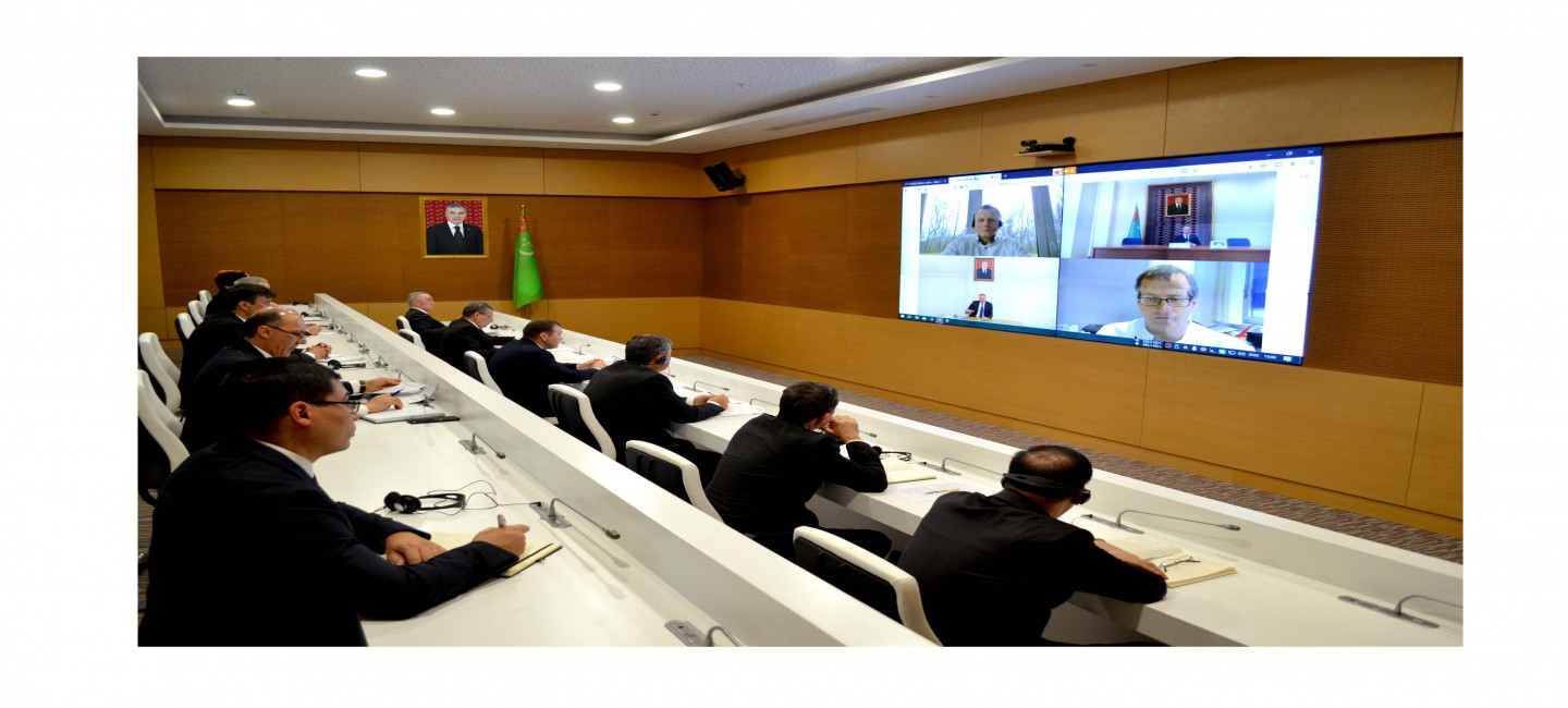 MEETING WITH GERMAN EXPERTS WAS HELD IN THE MINISTRY OF HEALTHCARE AND MEDICAL INDUSTRY OF TURKMENISTAN