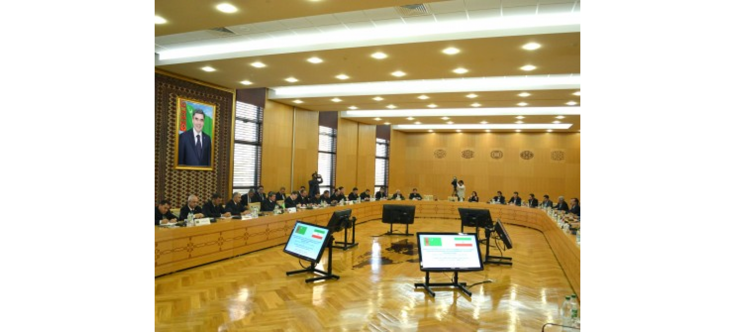 A MEETING OF THE INTERGOVERNMENTAL TURKMEN-IRANIAN COMMISSION ON ECONOMIC COOPERATION WAS HELD IN ASHGABAT