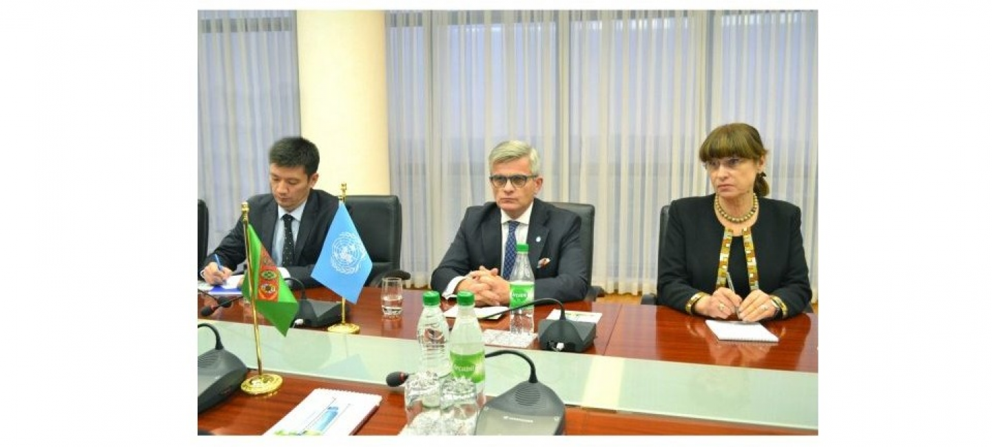 THE MEETING WITH THE REGIONAL REPRESENTATIVE OF THE OFFICE OF THE UNITED NATIONS HIGH COMMISSIONER FOR HUMAN RIGHTS
