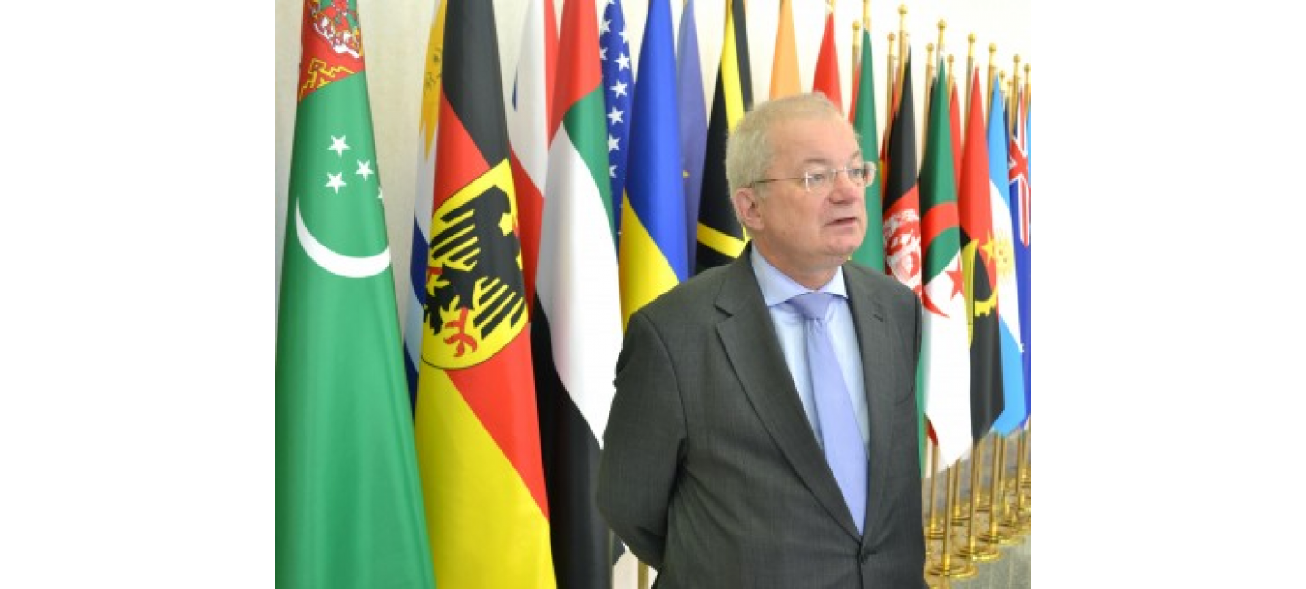 THE ISSUES OF TURKMEN-GERMAN INTERACTION HAD BEEN DISCUSSED