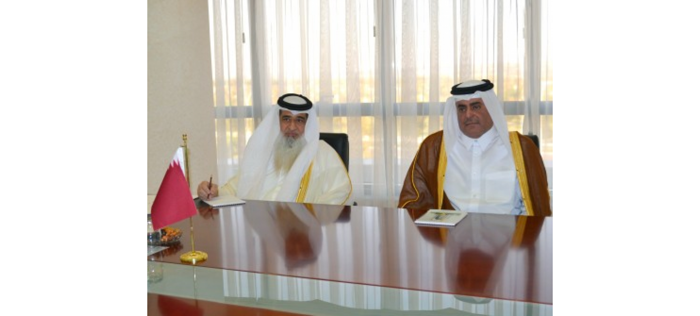 AMBASSADOR OF THE STATE OF QATAR PRESENTED THE COPIES OF HIS CREDENTIALS